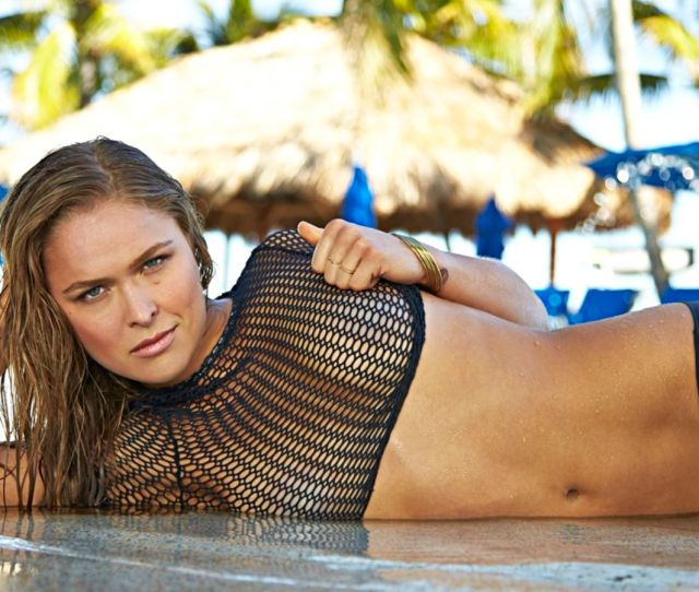Ronda Rousey Makes The Internet Explode With Her Naked Swimsuit Photoshoot