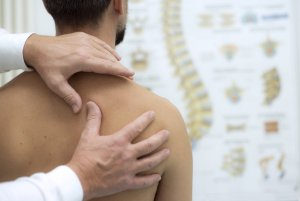 After a car accident - Chiropractic back and neck examination