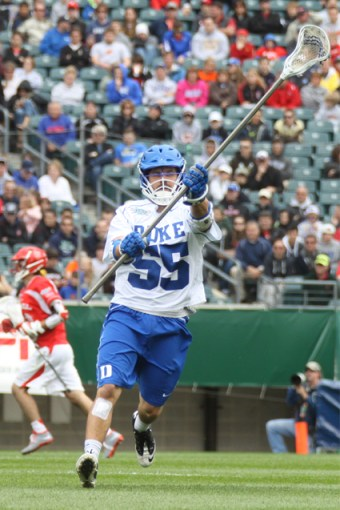 Duke senior defenseman Billy Conners (Malvern Prep) is a key for the Blue Devils as they gear for today's NCAA championship game