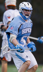 Tucker Durkin is just the eighth player in lacrosse history to win the Schmeisser Award twice.