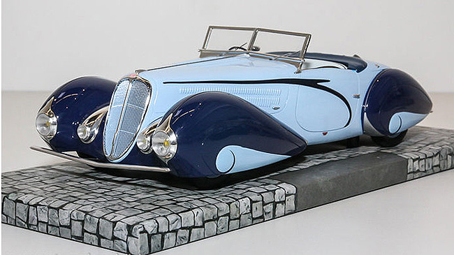 Philly Mint Models MiniChamps 1937 Delahaye Type 135 M