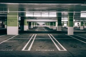 Parking garage in Philly