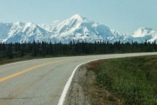 Tenana, Alaska. A beautiful place in the middle of nowhere to get stranded.
