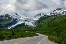 Worthington Glacier in Alaska