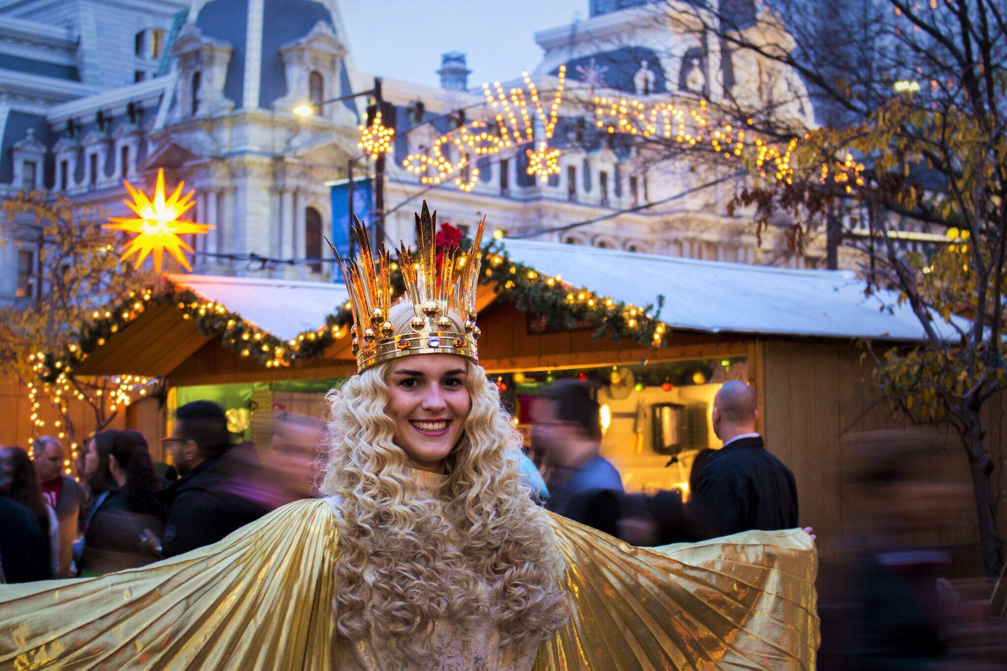 Christmas Village Philadelphia.Seasonal Event Review Happy 10th Anniversary Philadelphia