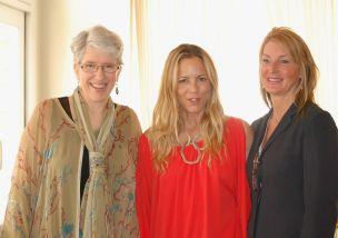 Left to right: Dabney Miller, Maria Bello, & Anya Harris