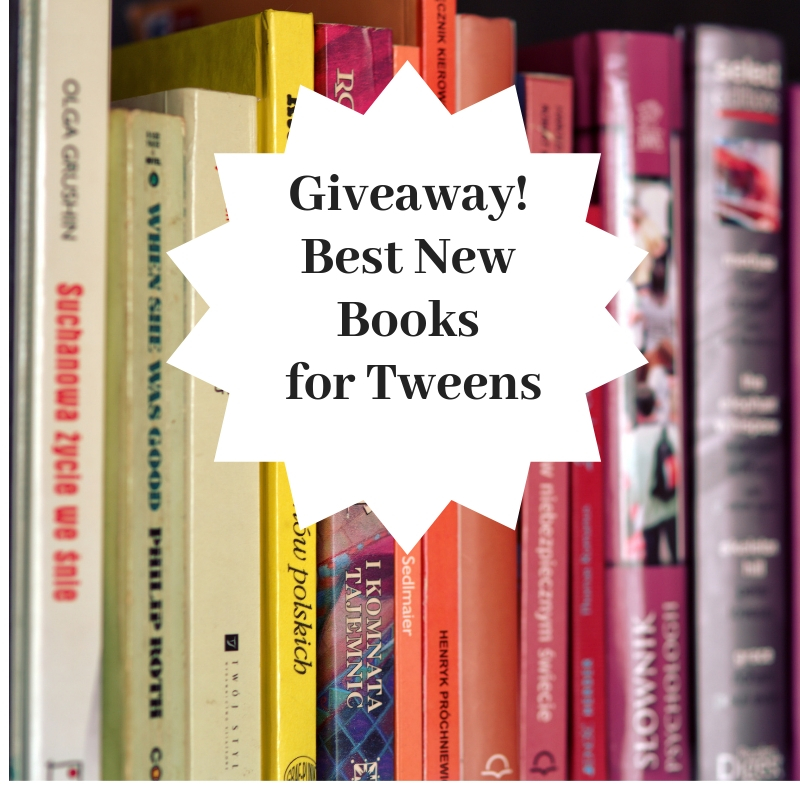 Giveaway! Best New Books for Tweens