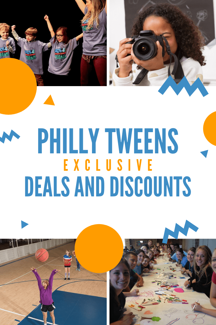 Exclusive Deals and Discounts for Philly Tweens Readers!