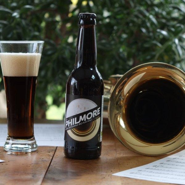 La Philmore Bière Noire – pure malt, artisanale et bio