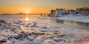Winter Sunrise, Bell Island