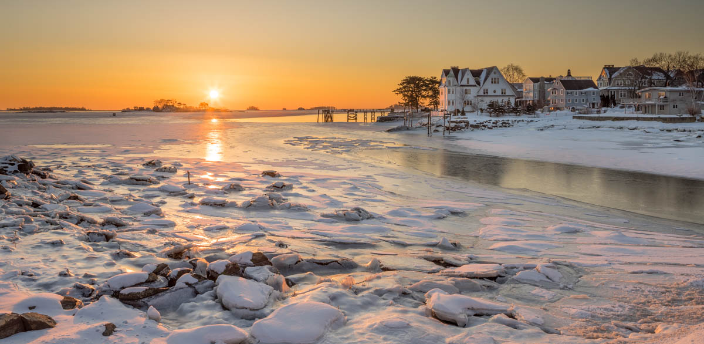 Winter Sunrise, Bell Island - 17-520