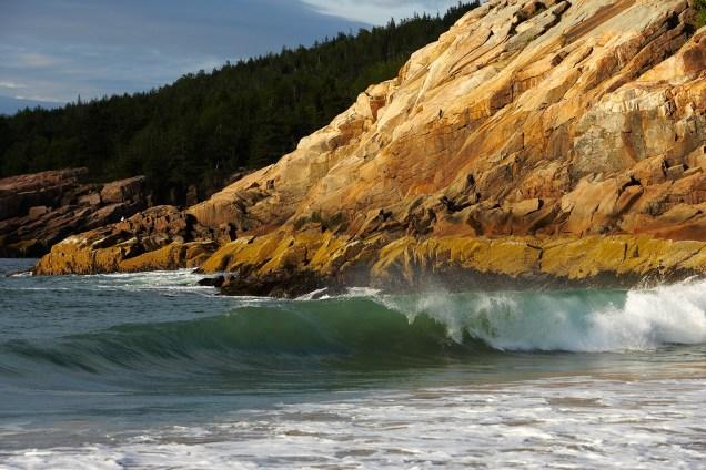 waves at sand beach