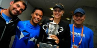 Cecil Mamiit and Maria Sharapova Celebration Video