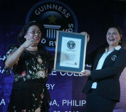 Gina Gil Lacuna Guinness World Record Holder