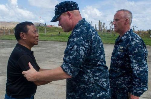 Jejomar Binay US Navy