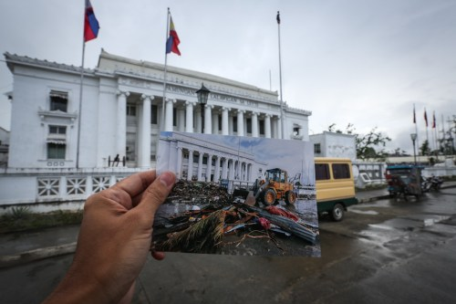 Tacloban Before and After Yolanda Images