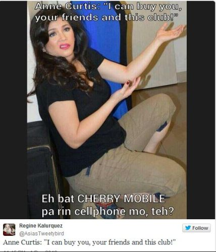 New Viral Videos 2013: Anne Curtis I Can Buy You Memes Gone Viral (Photos