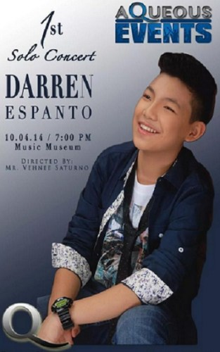 Darren On His First Major Solo Concert - Philippine News