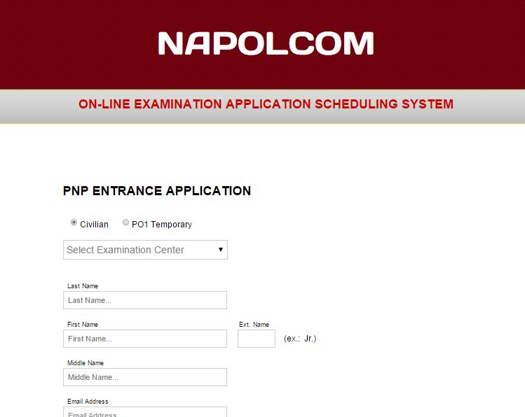 Napolcom Oleass Now Available Online Nov 20 21 2014