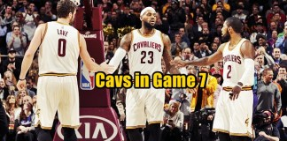 Cavaliers in Game 7