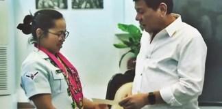 Duterte Gives P2M Bonus
