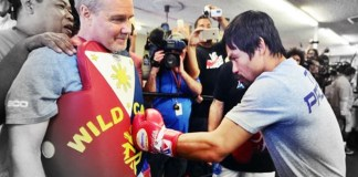 Pacquiao is 'a bit tired'
