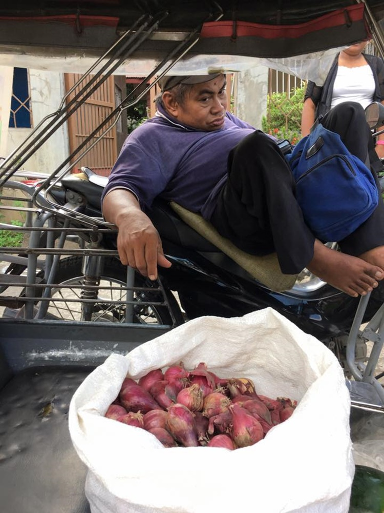 Disabled Vegetable Vendor