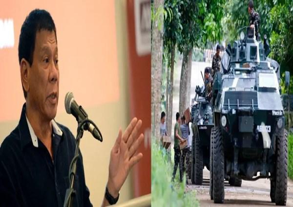 Duterte: Islamic State Leader Orders Marawi Clash