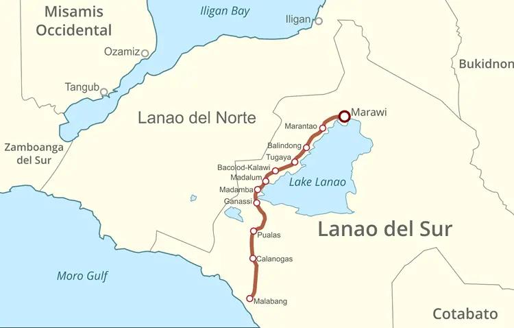Lanao Lake Area
