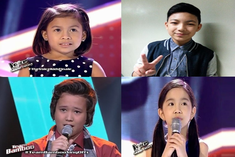 Voice Kids Season 1 Finalists
