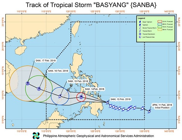 Tropical Storm Basyang