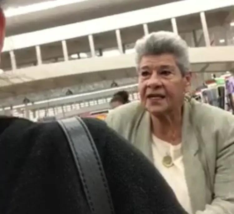 Racist American Woman
