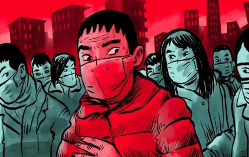 رسمة ظهرت في صحيفة South China Morning Post