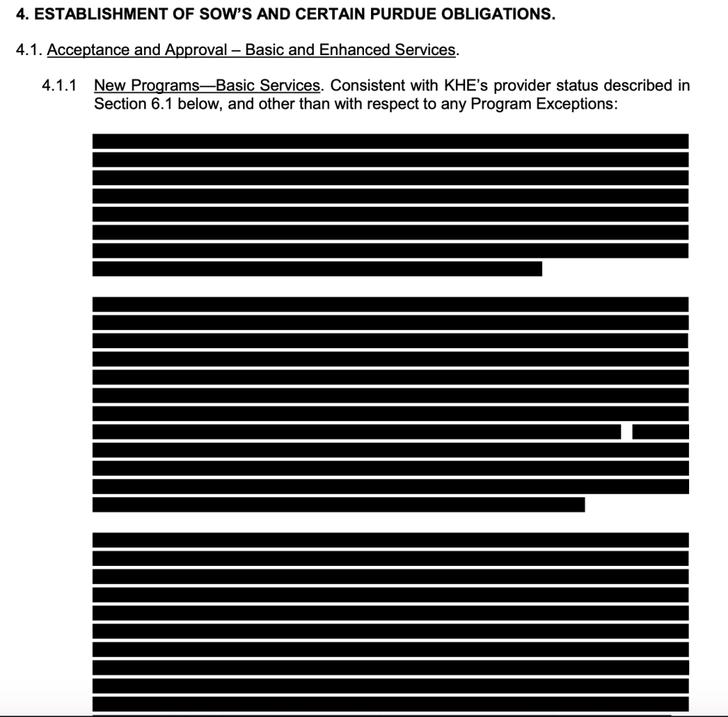 Redacted section 4.1.1