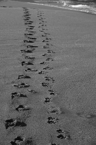 No one said you had to walk alone.
