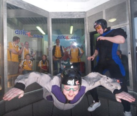 Life is risky. If you are worried about the risks of skydiving, but want to try a 'training wheels' scenario first, consider an indoor sky-dive. Lots of fun, very low risk!