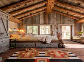 Country-Bedrooms-Ideas-with-Attic-rustic
