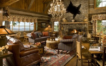 rustic-cabin-living-room