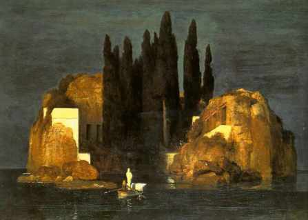 Isola dei morti IV, di Arnold Böcklin.