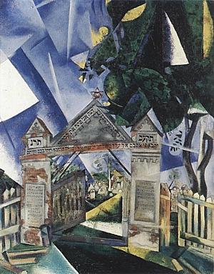 Marc Chagall, Cemetery Gates, 1917.
