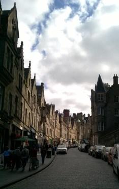 Strade di Edimburgo