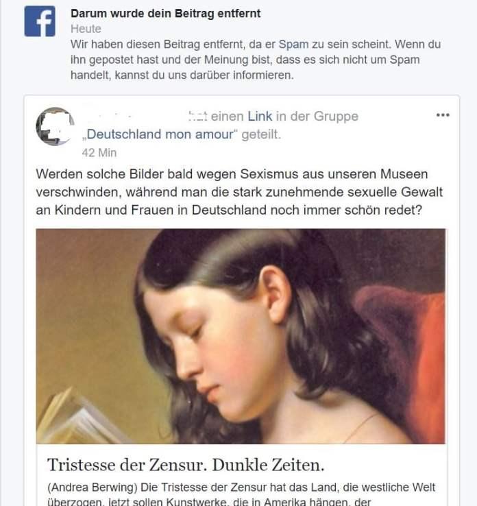 zensur facebook