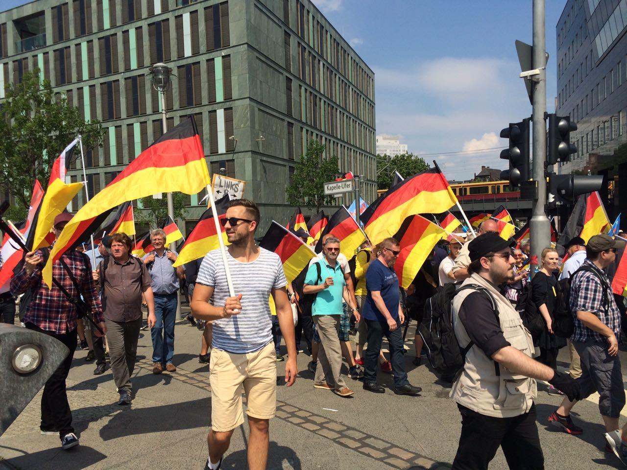 Die AfD-Demo am vergangenen Sonntag manifestierte gut, dass die Partei jung, unspießeig ist und für den Aufbruch Deutschlands steht