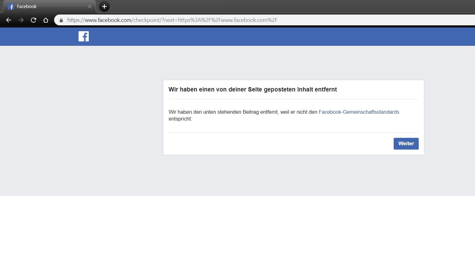 Sie Wurden Bei Facebook Gesperrt Warum Antwort Von Facebook