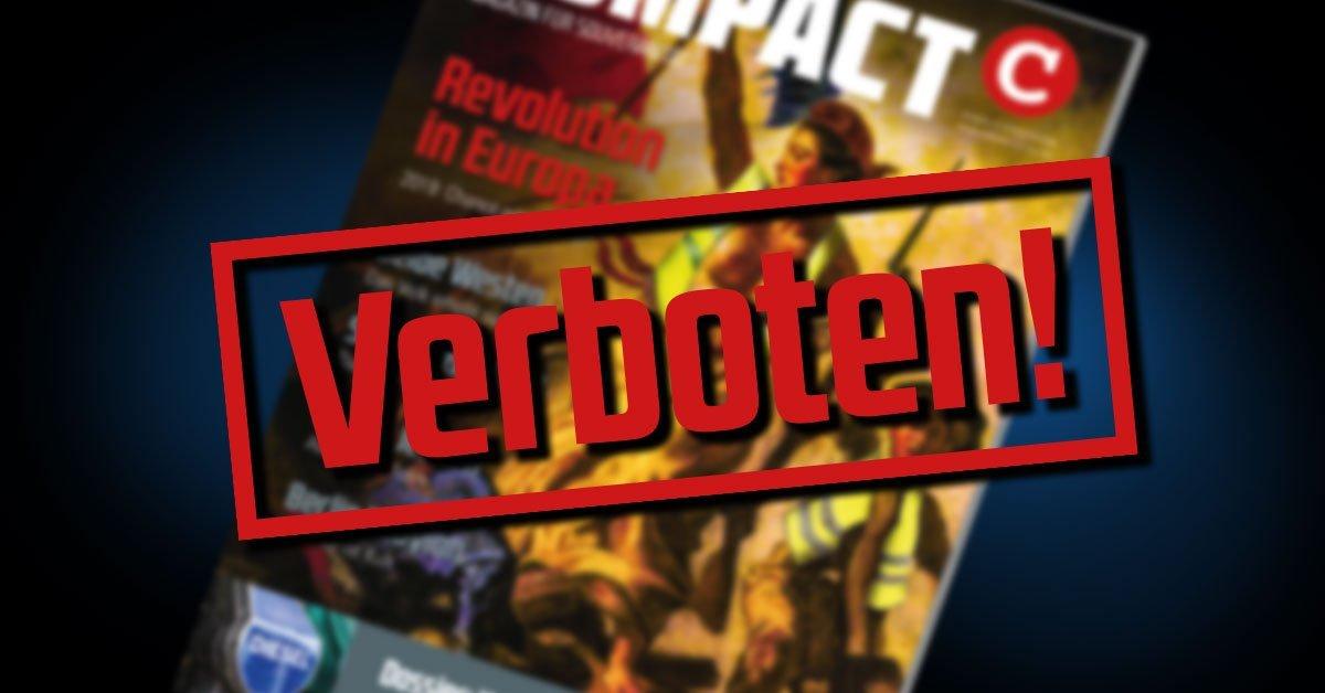 """Gericht verbietet weitere Auslieferung der Januar-Ausgabe des """"Compact""""-Magazins"""
