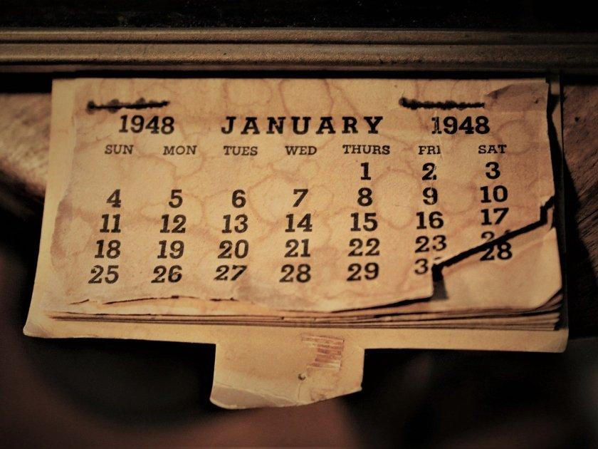 Calendar Poetry