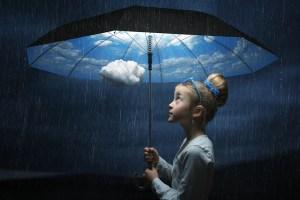 %name The good weather umbrella