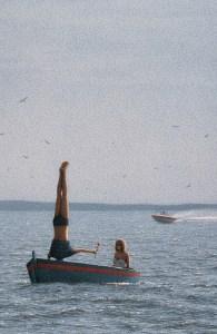 %name Quint Buchholz 1990 Ohne Titel (Paar im Boot)