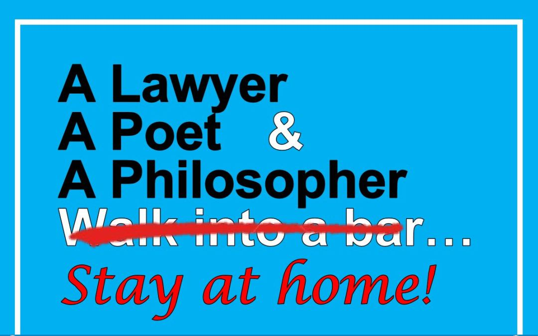 A Lawyer, A Poet, and Two* Philosophers Stay at Home and talk about…Home!