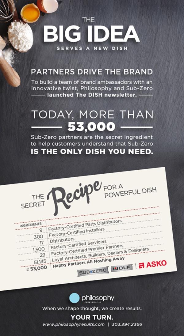 The BIG IDEA Serves a New DISH